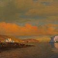 Arctic Sunset by William Bradford