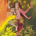 Ardhanareeswara  by Rupa Prakash