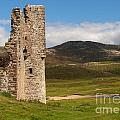 Ardvreck Castle Landscape by Michaela Perryman