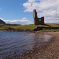 Ardvreck Castle Scotland by Michaela Perryman