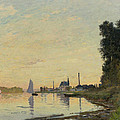 Argenteuil Late Afternoon by Claude Monet