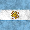 Argentina Flag by World Art Prints And Designs