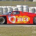 Argo Mazda Gtp Race Car At Sebring Raceway by Tad Gage