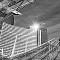 Aria Sun - Aria Resort And Casino At Citycenter In Las Vegas by Jamie Pham