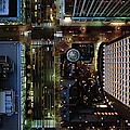 Ariel View Of Marunouchi, Tokyo At by Michael H