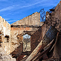 Arivaca Ruins by Kathleen Bishop