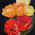 Arizona Blossoms - Prickly Pear by Debbie Hart