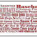 Arizona Diamondbacks Game Day Food 3 by Andee Design