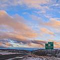 Arizona Highway Sunset by Anthony Citro