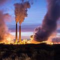 Arizona Power Plant by Robert VanDerWal