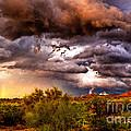 Arizona Sunset 5 by Larry White