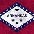 Arkansas Flag by World Art Prints And Designs