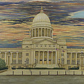 Arkansas State Capitol by Mary Ann King