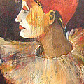 Arlequin In A Red Hat by Alicja Coe