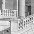 Arlington Memorial Amphitheater  Bw by Susan Candelario