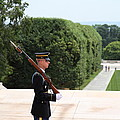 Arlington National Cemetery - Tomb Of The Unknown Soldier - 01135 by DC Photographer
