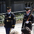 Arlington National Cemetery - Tomb Of The Unknown Soldier - 121222 by DC Photographer