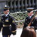 Arlington National Cemetery - Tomb Of The Unknown Soldier - 121223 by DC Photographer