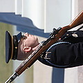 Arlington National Cemetery - Tomb Of The Unknown Soldier - 121228 by DC Photographer