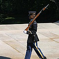 Arlington National Cemetery - Tomb Of The Unknown Soldier - 12124 by DC Photographer