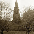 Arlington Street Church Unitarian Universalist Boston Massachusetts Circa 1900 by California Views Archives Mr Pat Hathaway Archives
