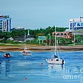 Armdale Traffic Circle by Donna Muller