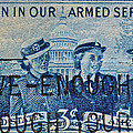 Armed Services Women Stamp by Bill Owen