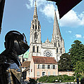 Armor And Chartres Cathedral by RicardMN Photography