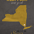 Army Black Knights West Point New York Usma College Town State Map Poster Series No 015 by Design Turnpike