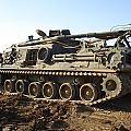 Army Tank by Sharla Fossen