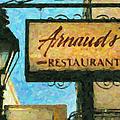Arnauds New Orleans_oil Digital Art by Kathleen K Parker