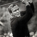 Arnold Palmer Pro-am Golf Photo Pebble Beach Monterey Calif. Circa 1960 by California Views Archives Mr Pat Hathaway Archives
