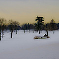 Aronimink Golf Club In The Snow by Bill Cannon