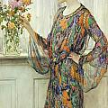 Arranging Flowers by William Henry Margetson