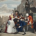 Arrested For Debt, Plate V From A Rakes by William Hogarth
