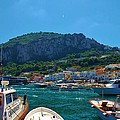 Arrival To Capri by Dany Lison