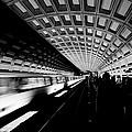 Arriving Metro by Paul Riedinger
