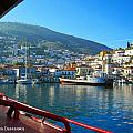 Arriving At Hydra by Alexandros Daskalakis