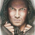 Arrow/ Stephen Amell by Christine Jepsen