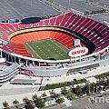 Arrowhead Stadium Kansas City Missouri by Bill Cobb