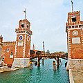 Arsenale Venice by Horst Werner