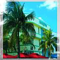 Art Deco Barbizon Hotel Miami Beach by Rebecca Korpita