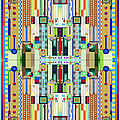 Art Deco Stained Glass 2 by Ellen Henneke