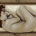 Art For The Sake Of Art Woman Framed 3 by Tony Rubino