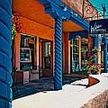 Art Gallery In Taos by Charles Muhle