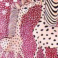 Giraffe Art by Pikotine Art