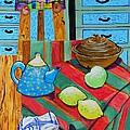 Art In The Kitchen by Caroline Street