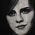 Art In The News 17-emma Watson by Michael Cross