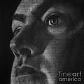 Art In The News 40-self Portrait by Michael Cross
