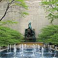 Art Institute Fountain by Eric Mace